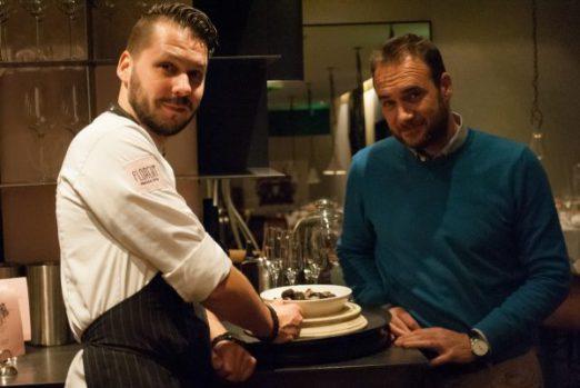Links Chef Robert Mcadoo (Florent), rechts Marco Gambarini (Buon Appetito)