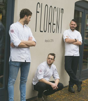Chef en keukenteam Florent