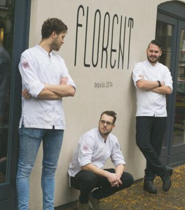 Chef en keukenteam Florent