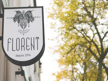 Florent Utrecht uithangbord