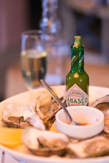 gerecht oesters Florent uit eten utrecht