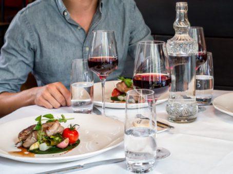 Diner met wijn bij Florent